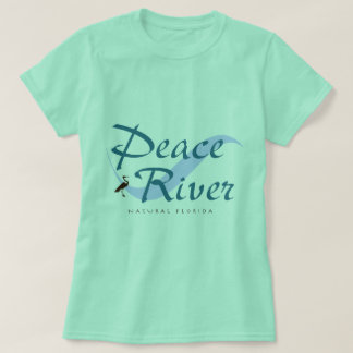 T-shirt naturel de Peace River la Floride