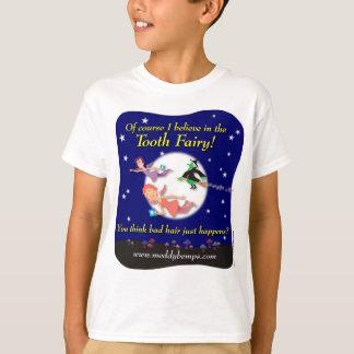 T-shirt Naturellement je crois en fée de dent !