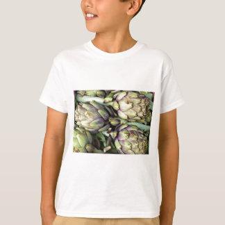 T-shirt Natures mortes siciliennes avec des artichauts