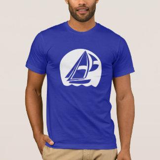 T-shirt Navigation bleue