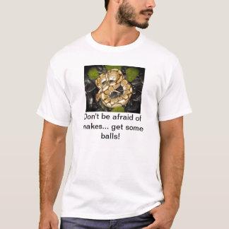 T-shirt N'ayez pas peur des serpents
