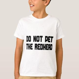 T-shirt Ne choyez pas le roux