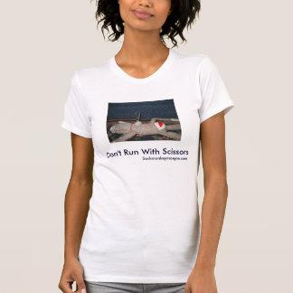 T-shirt Ne courez pas avec des ciseaux