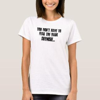 T-shirt Ne craignez pas l'obscurité, avec des ailes d'ange
