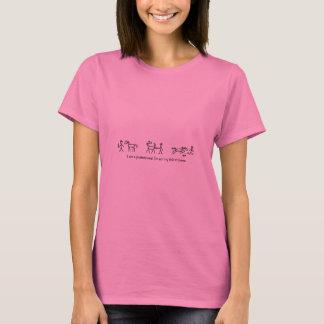 T-shirt Ne jugez pas ce à la maison professionnel