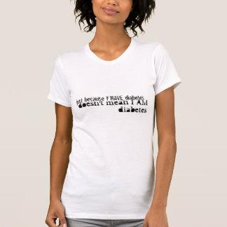 T-shirt Ne m'appelez pas diabète