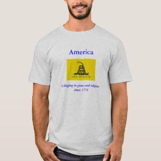T-shirt Ne marchez pas sur moi la chemise