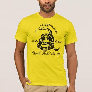 T-shirt Ne marchez pas sur moi le 2ème amendement