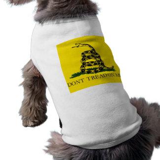 T-shirt NE MARCHEZ PAS SUR MOI, le drapeau de Gadsden