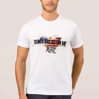 T-shirt Ne marchez pas sur moi le serpent aa de chemise de