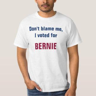T-shirt Ne me blâmez pas que j'ai voté Bernie