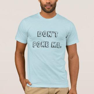T-shirt Ne me poussez pas