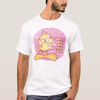 T-shirt Ne m'incitez pas à vous picoter la chemise des