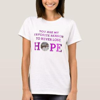 T-shirt Ne perdez jamais l'espoir - la grâce O