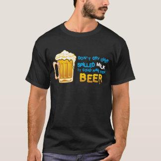 T-shirt Ne pleurent pas le lait plus de renversé !