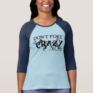 T-shirt Ne poussez pas le fou
