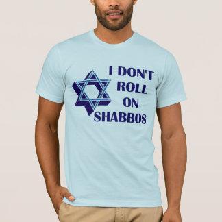 T-shirt Ne roulez pas sur Shabbos