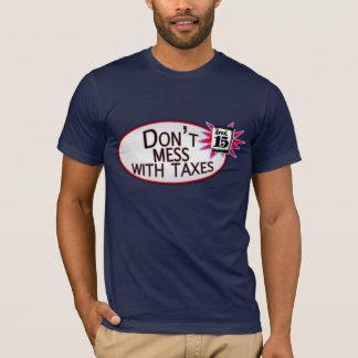 T-shirt Ne salissez pas avec des impôts
