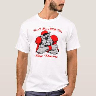 T-shirt Ne salissez pas le grand chien