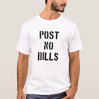 T-shirt Ne signalez aucune facture