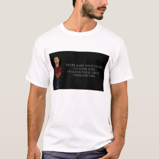 T-shirt Ne soulevez jamais vos mains