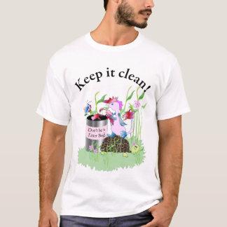 T-shirt Ne soyez pas un insecte d'ordures !