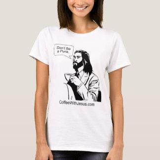 T-shirt Ne soyez pas un punk