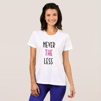 T-shirt Néanmoins, elle a persisté la chemise active des