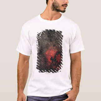 T-shirt Nébuleuse de l'Amérique du Nord et nébuleuse de