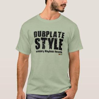 T-shirt nécessaire de style de Dubplate de