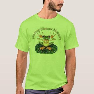 T-shirt neener grenouille