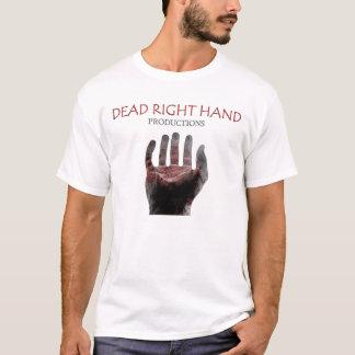 T-shirt Négatif sanglant rouge - blanc
