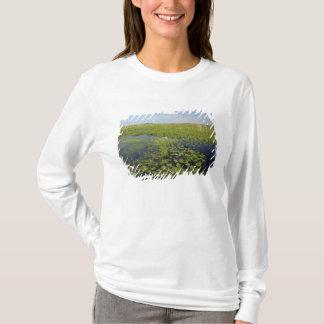 T-shirt Nénuphars et sawgrass dans les marais 2 de la
