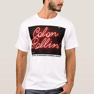 T-shirt Néon de Rollin de deux points