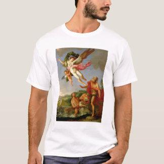 T-shirt Neptune poursuivant Coronis, 1665-70 (huile sur la