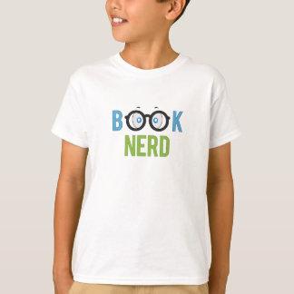 T-shirt nerd de livre pour des garçons