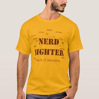 T-shirt Nerdfigher :