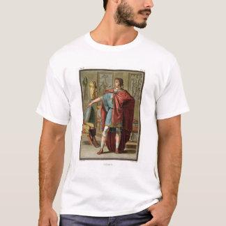 """T-shirt Nero, costume pour """"Britannicus"""" par Jean Racine,"""