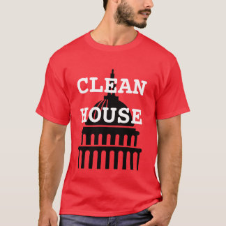 T-shirt Nettoyez la Chambre
