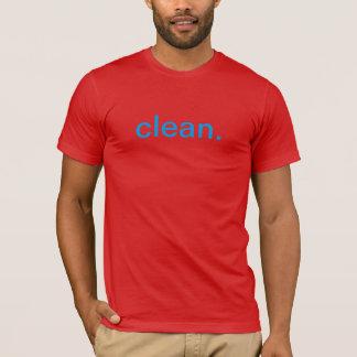 T-shirt Nettoyez la pièce en t