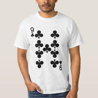 T-shirt Neuf de la carte de jeu de clubs