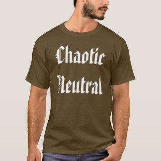 T-shirt Neutre chaotique