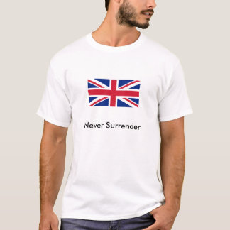 T-shirt Never sifflant - Union Jack