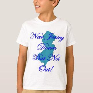 T-shirt New Jersey vers le bas mais pas ~ Sandy d'ouragan