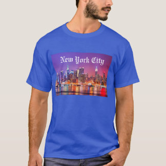 T-shirt New York City Skyline