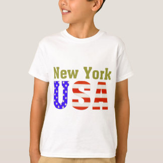 T-shirt New York Etats-Unis !