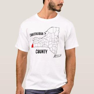 T-shirt New York : Le comté de Chautauqua