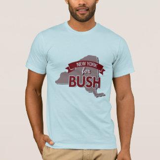 T-SHIRT NEW YORK POUR BUSH - .PNG
