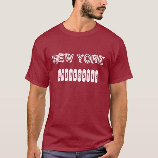 T-shirt NEW YORK UNIVERSITY, numéro 78