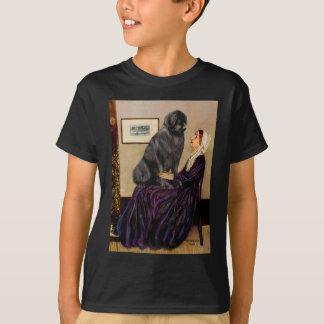 T-shirt Newfie 1 - La mère de Whistler